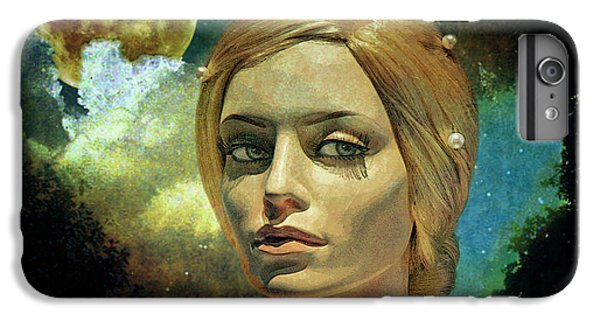 Moon iPhone 7 Plus Case - Luna In The Garden Of Evil by Chuck Staley
