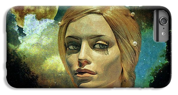 The Moon iPhone 7 Plus Case - Luna In The Garden Of Evil by Chuck Staley