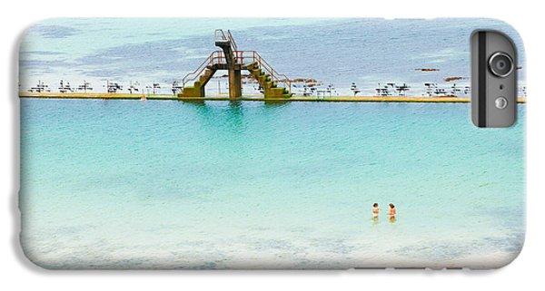 Marine iPhone 7 Plus Case - Marine Swimming Pool From Sain-malo by Jose Ignacio Soto