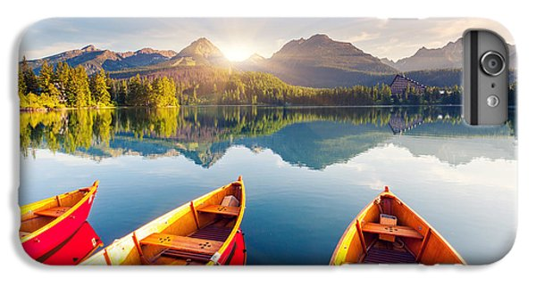 Ship iPhone 7 Plus Case - Mountain Lake In National Park High by Creative Travel Projects