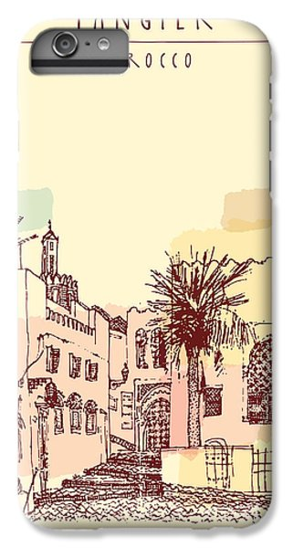Craft iPhone 7 Plus Case - Old Town Medina In Tangier, Morocco by Babayuka