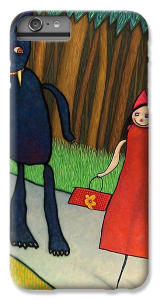 Fairy iPhone 7 Plus Case - Red Ridinghood by James W Johnson