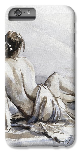 Figurative iPhone 7 Plus Case - Relaxed by Steve Henderson