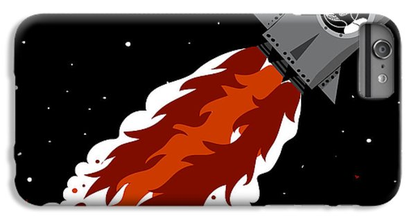 Craft iPhone 7 Plus Case - Rocket Launch by Complot