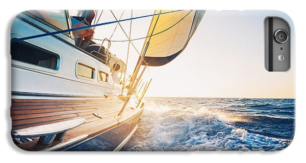 Sailboat iPhone 7 Plus Case - Sailing To The Sunrise by Epicstockmedia