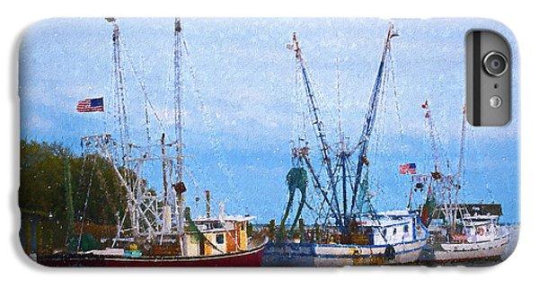 Shrimp Boats iPhone 7 Plus Case - Shem Creek Boats IIi by Jon Glaser
