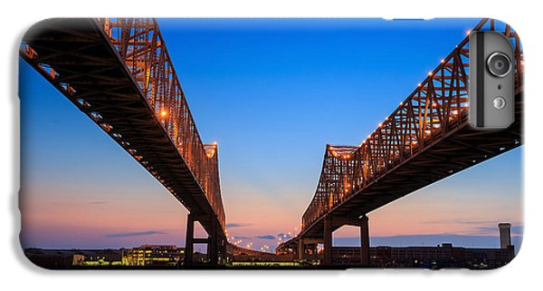 Craft iPhone 7 Plus Case - The Crescent City Connection Bridge On by F11photo