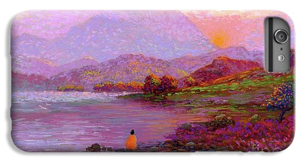 Figurative iPhone 7 Plus Case - Tranquil Mind by Jane Small