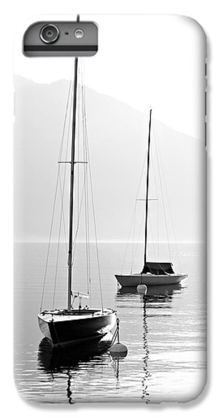 Sailboat iPhone 7 Plus Case - Two Sail Boats In Early Morning On The by Kletr