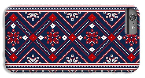 Craft iPhone 7 Plus Case - Vector Illustration Of Ukrainian Folk by Garrykillian