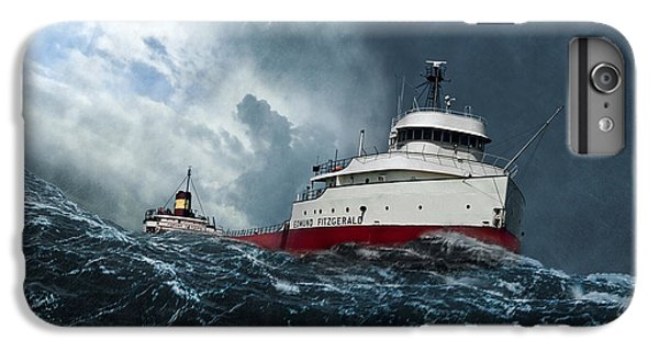 Lake Superior iPhone 7 Plus Case - Witch Of November by Peter Chilelli