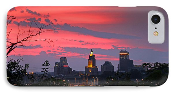 4th Of July Sunset Providence Ri IPhone Case