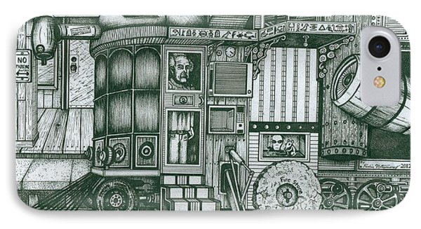 A Traveling Cabinets Of Curiosities IPhone Case