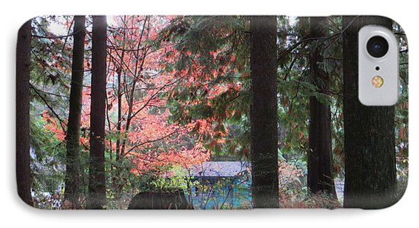 Beauty Through The Trees IPhone Case