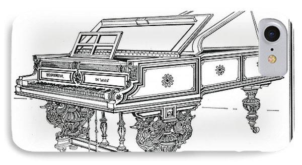 Bosendorfer Centennial Grand Piano IPhone Case