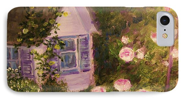 Cottage  In  The  Garden IPhone Case