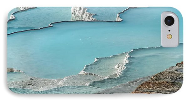 Cotton Castle Surrounded By Azure Pools IPhone Case
