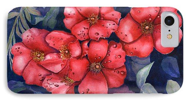 Dew Flowers IPhone Case