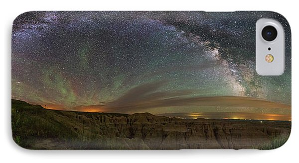 Pinnacles Overlook At Night IPhone Case
