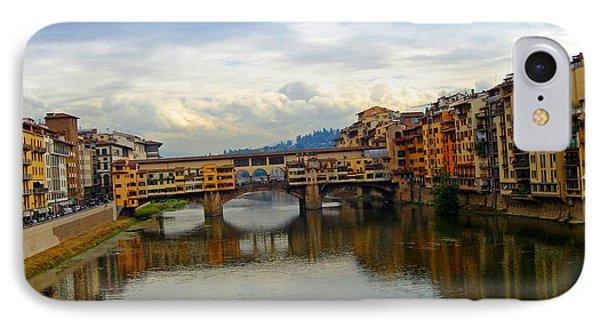 Ponte Vecchio's Padlocks IPhone Case