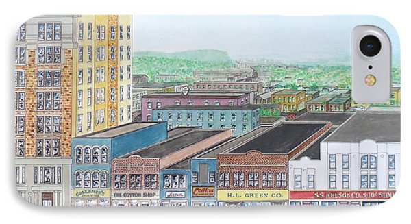 Portsmouth Ohio Dime Store Row 4th To 5th IPhone Case