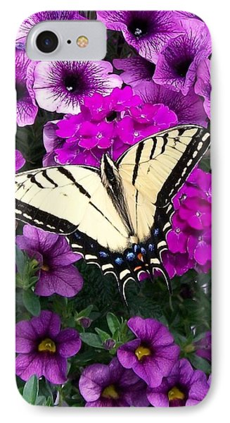 Tiger  Swallowtail Butterfly IPhone Case