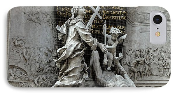 Vienna Austria - Plague Monument IPhone Case