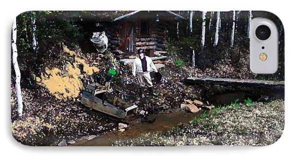 090814 Alaskan Gold Miner IPhone Case
