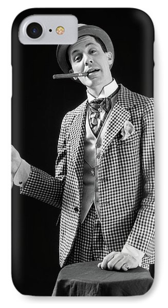 1910s 1920s Character Con Man Barker IPhone Case