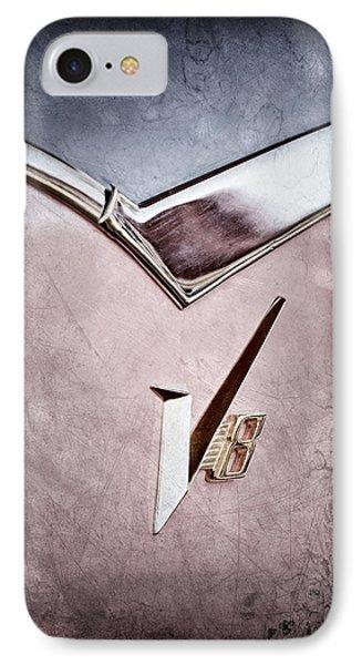 1955 Dodge Royal Lancer V8 Emblem IPhone Case