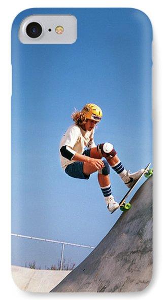 1970s Teenage Boy Wearing Safety IPhone Case