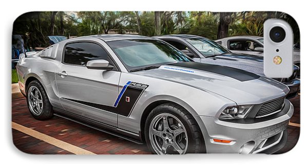 2012 Ford Roush Stage 3 Mustang Rs3 Painted  IPhone Case