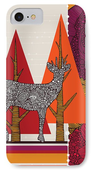 A Deer In Woodland IPhone Case