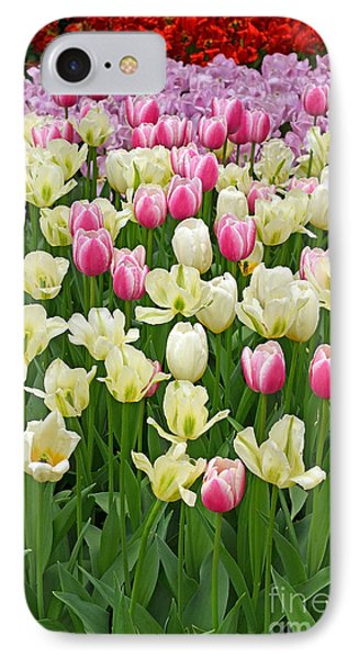 A Field Of Tulips IPhone Case