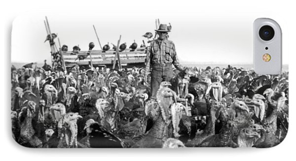 A Turkey Rancher IPhone Case