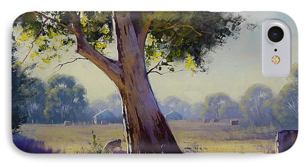 Afternoon Light Grazing IPhone Case