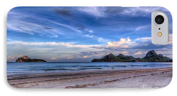 Sea iPhone 8 Case - Ao Manao Bay by Adrian Evans