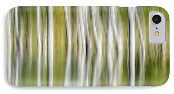Artistic Abstract Of Trees IPhone Case