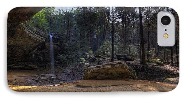 Ash Cave Panorama IPhone Case