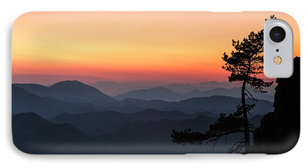At The End Of The Day IPhone Case