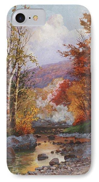 Autumn In The Berkshires IPhone Case