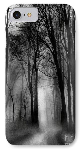 Autumn Moon Winter On The Way IPhone Case