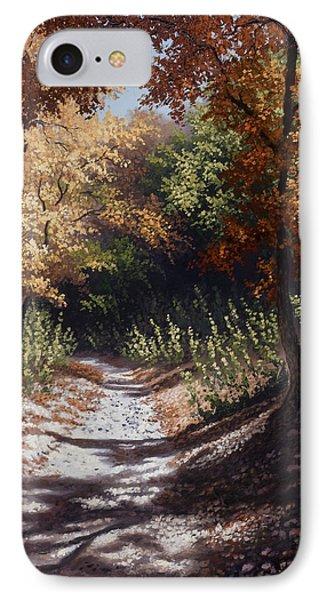 Autumn Trails IPhone Case