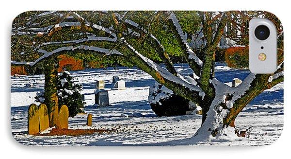 Baldwin Memorial United Methodist Church Cemetery IPhone Case