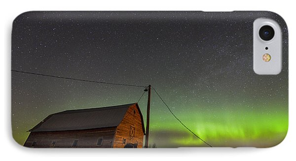 Barn Aurora IPhone Case