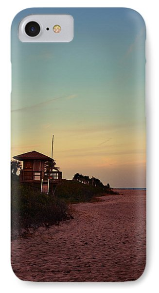 Beach Hut IPhone Case