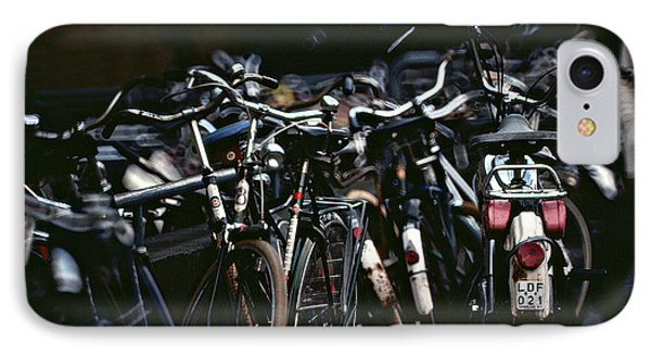 Bicycle Parking IPhone Case