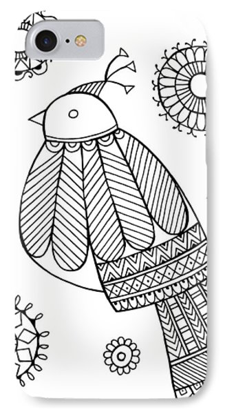 Bird Dove IPhone Case