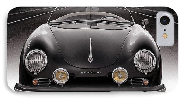 Car iPhone 8 Case - Black Speedster by Douglas Pittman