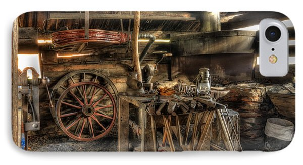 Blacksmith Shop IPhone Case